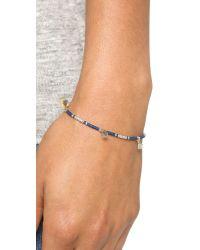 Shashi | Blue Ana Lilu Bracelet | Lyst
