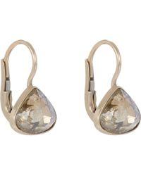 Anaconda - Metallic Brown Diamond White Gold Gwyneth Earrings - Lyst