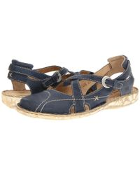 Josef Seibel Blue Francesca 05 Sandals