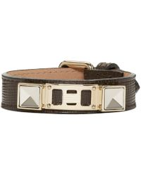 Proenza Schouler | Brown Ps11 Leather Bracelet for Men | Lyst