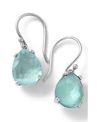 Ippolita - Blue 'wonderland' Teardrop Doublet Earrings - Lyst