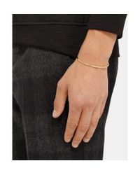 Le Gramme Metallic Le 7 Polished Yellow Gold Cuff for men