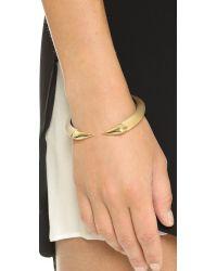 Alexis Bittar - Metallic Brake Hinge Bracelet - Gold - Lyst