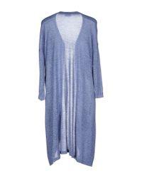 Vero Moda - Blue Cardigan - Lyst