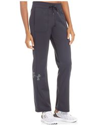 Under Armour Black Rival Warm-up Pants