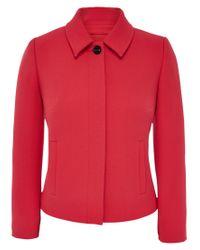 Viyella Petite Textured Crepe Jacket