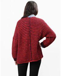 Wool And The Gang   Red Indie Cindy Cardie   Lyst