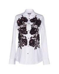 DSquared² | White Shirt | Lyst