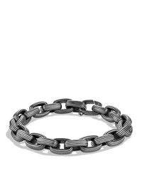 David Yurman | Metallic Royal Cord Small Link Bracelet for Men | Lyst