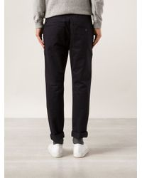 Saturdays NYC Blue 'John' Chino Trousers for men