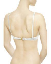 La Perla | Gray Push-up Bikini Top | Lyst