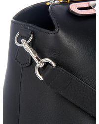Fendi | Black By The Way Leather Shoulder Bag | Lyst