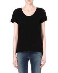 Rag & Bone | Black The Pocket Jersey T-shirt | Lyst