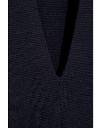 JOSEPH Blue Merino Wool Sweater