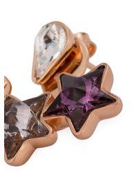 Ca&Lou | Metallic 'iris' Earrings | Lyst