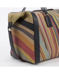 Paul Smith - Multicolor Women'S Swirl Print Calf Leather 'Ziggy' Bag - Lyst