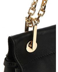Max Mara Black Leda Goat-Leather Shoulder Bag