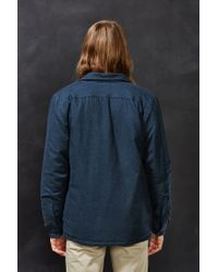 Patagonia - Blue Insulated Fjord Flannel Jacket - Lyst