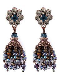 DSquared² - Multicolor Flower Earrings - Lyst