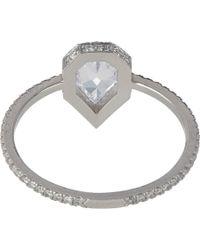 Eva Fehren - Multicolor Diamond & Platinum Solitaire - Lyst