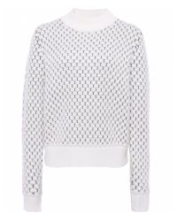 Paul Smith Black Label - Natural Bobble Knit Jumper - Lyst