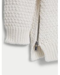 Violeta by Mango Natural Chunky Knit Sweater