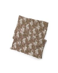 Denim & Supply Ralph Lauren | Brown Floral Cotton Gauze Scarf | Lyst