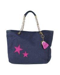 Pinko | Blue Handbag | Lyst