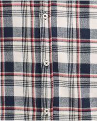Zara | Gray Flannel Shirt for Men | Lyst