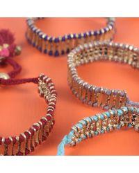 Bohemia Design Blue Chanda Bracelet Indigo