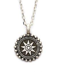 Satya Jewelry - Metallic 'celestial' Pendant Necklace - Lyst