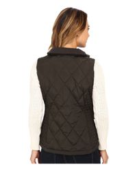 MICHAEL Michael Kors | Green Quilted Sporting Vest | Lyst