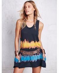 Free People - Blue We The Free Womens We The Free Sunrise Tunic - Lyst