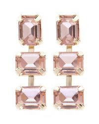 Coast - Pink Peach Earrings - Lyst
