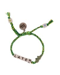 Venessa Arizaga | Green Later Gator Bracelet | Lyst