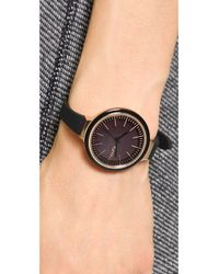 Rumbatime Black Orchard Enamel Watch Lights Out