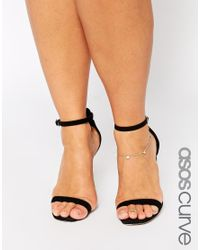 ASOS | Metallic Heart Anklet And Toe Ring Pack | Lyst