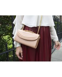 Lauren Cecchi New York | Metallic Sorella Rose Gold Mini Cross Body Bag | Lyst