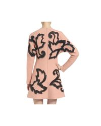 Mulberry - Pink Short Hatton Dress - Lyst