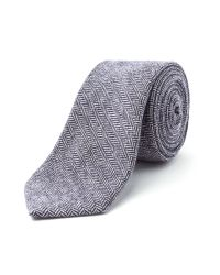 Racing Green | Blue Bedford Herringbone Tie for Men | Lyst