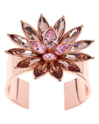 Ted Baker - Pink Fonta Flower Bloom Cuff - Lyst