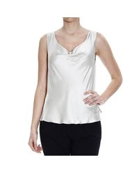 Giorgio Armani | White Women's Top | Lyst