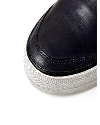 Moda In Pelle Blue Aliah Low Casual Shoes