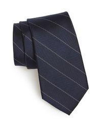 Calibrate - Blue 'lolland Panel' Silk Tie for Men - Lyst