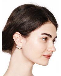 Kate Spade   Metallic Dainty Sparklers Ear Jacket   Lyst