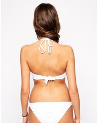 Melissa Odabash White Crochet Swimsuit