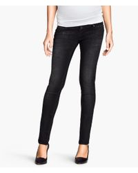 H&M - Black Mama Skinny Jeans - Lyst