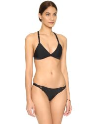 Mikoh Swimwear - Black Nusa Dua Bikini Top - Lyst