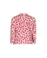 Les Copains - Pink Blazer - Lyst