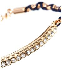 Tokyo Jane Multicolor Blue Lola String Bracelet